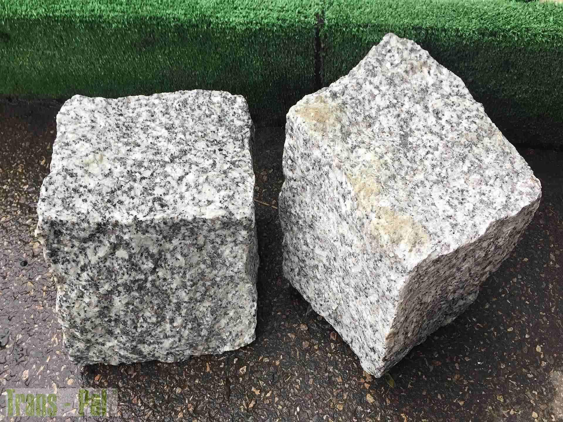 Kostka Granitowa Szara 15-17 cm
