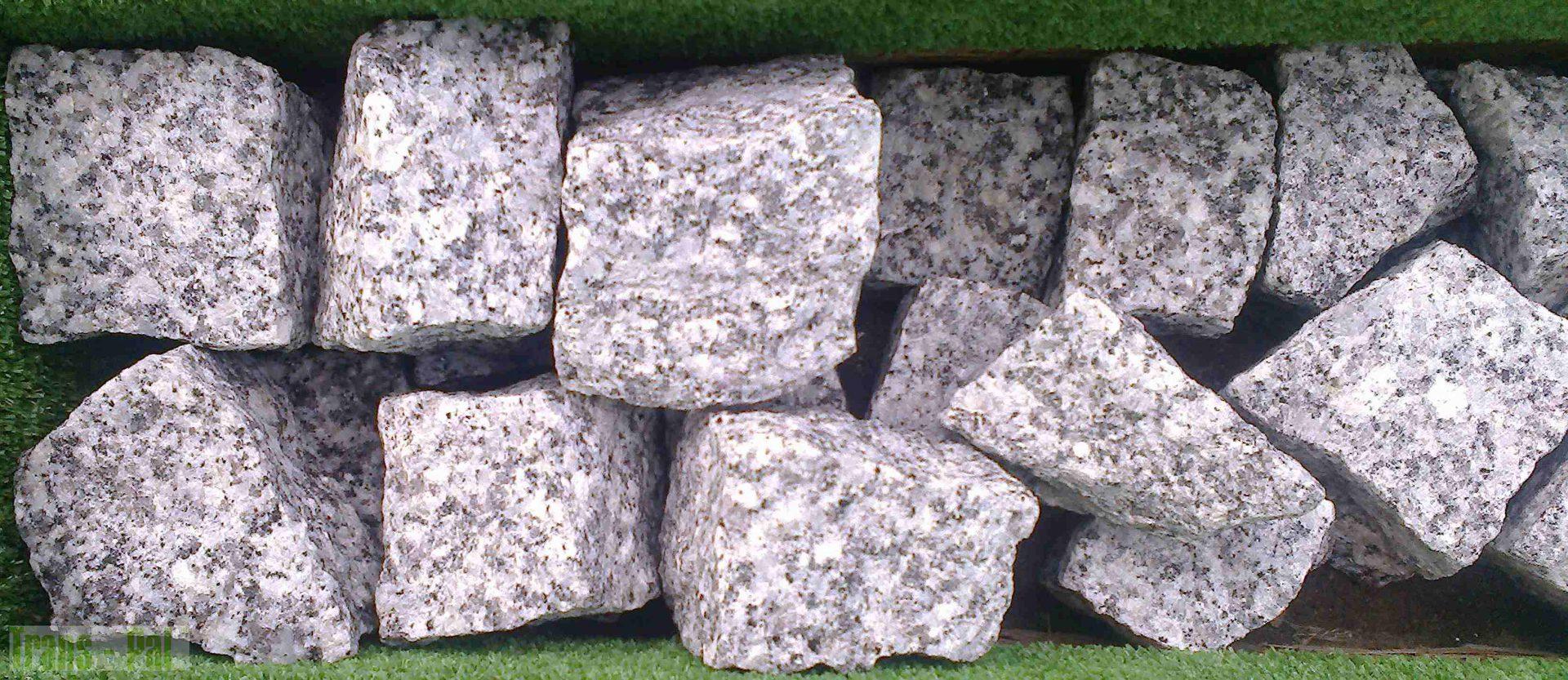 Kostka Granitowa Szara 4-6 cm