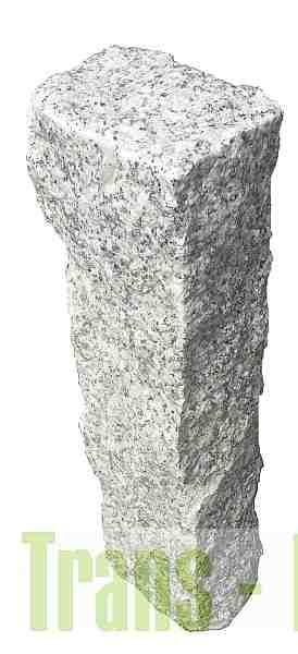 Palisada Granitowa 10x10 wysokosc 50cm, 40cm i 30cm